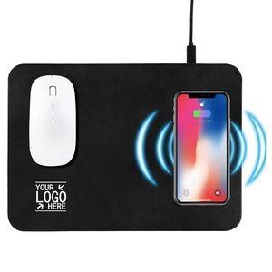 Mouse Pad with 10W Fast Wireless Charger
